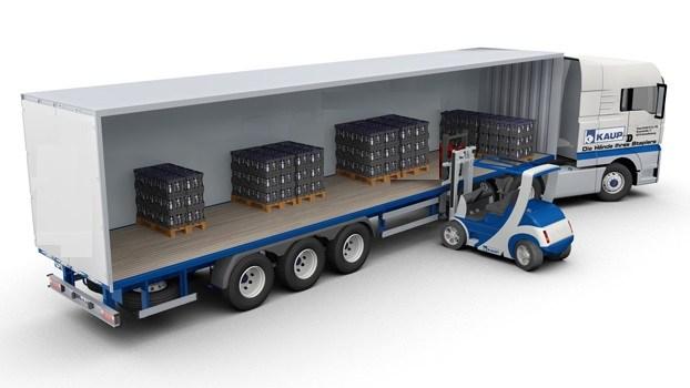 Bao càng xe nâng đủ dài để lấy hàng bên trong các container và xe tải